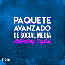 Paquete avanzado de marketing digital
